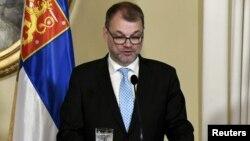 Юха Сипиля, Финляндия премьер-министрі.