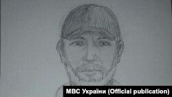 Портрет предполагаемого убийцы Аркадия Бабченко
