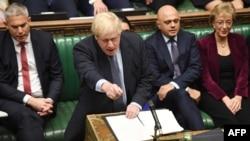 جلسه پارلمان بریتانیا برای بررسی توافق با اروپا درباره برگزیت