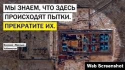 Акция Amnesty International в Узбекистане