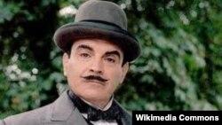 Aktori britanik, David Suchet në rolin e Hercule Poirot