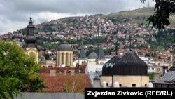 Pravoslavna i katolička crkva i sinagoga u Sarajevu