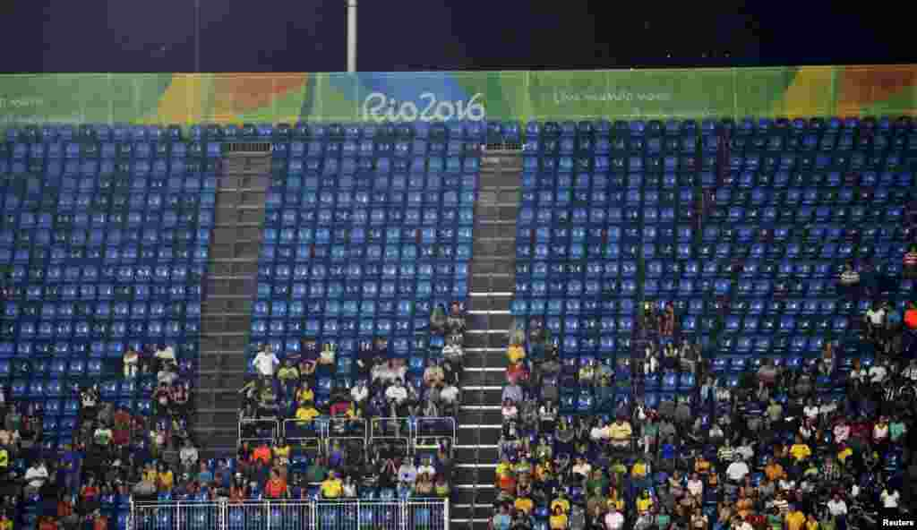 Rio officials were unable to explain why so many events at the Olympics had very sparse attendance, evident to millions of TV viewers who saw half-full arenas and stadiums, perhaps most glaringly during the track-and-field competitions that in previous Olympics have always been jam packed.