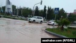 Наводнение в Ашхабаде