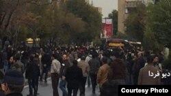 İranda Azərbaycan türklərinin protesti