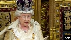 Ұлыбритания ханшайымы ІІ Елизавета.