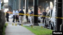 Njujorška policija na mestu ubistva imama Mulame Akondžija