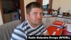 Цветан Стојановиќ од кумановското село Четирце, повреден градежен работник.