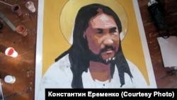 "Работа ""Дойди и изгони"" художника Александра Еременко"
