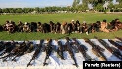 Військові також стверджують, що члени «Ісламської держави» здали представникам безпекових служб 35 одиниць зброї