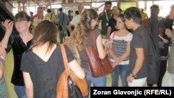 Povratak državljana Srbije iz Sirije, Beograd. 1. avgust 2012.