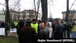 Protest radnika u Banjaluci i Tuzli