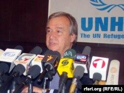 Антонио Гутьеррес, верховный комиссар ООН по делам беженцев.