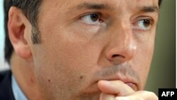 Италияның демократиялық партиясының жетекшісі Маттео Ренци.