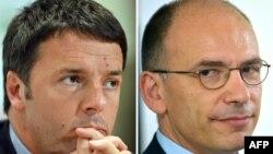 Matteo Renzi və Enrico Letta