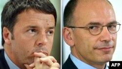 Маттео Ренці (л) і Енріко Летта