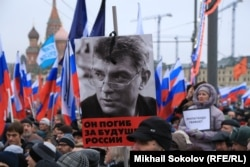 La procesiunea funerară de la Moscova
