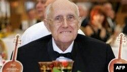 Мстислав Ростропович на вечере, посвященном его 80-летию. Москва, 2007 год.