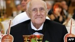 Mstislav Rostropovici la aniversarea sa de 80 de ani la Moscova