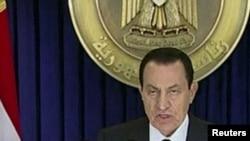 Президент Ҳусни Муборакнинг телевидение орқали халққа мурожаати