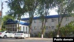 Здание Сарыагашского районного суда в Южно-Казахстанской области.