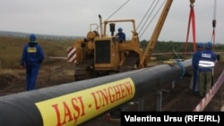 The Iasi-Ungheni pipeline was opened to great fanfare in August, but has yet to pump any gas.