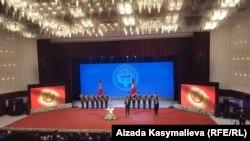 Президент Садыр Жапаровдун ант берүү аземи. 28-январь, 2021-жыл.