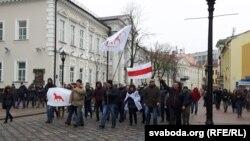«Маршнедармаедаў» у Горадні 19 лютага