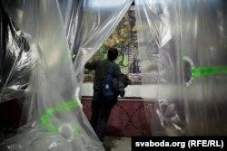 Арт-прастора «Верх» зьявілася у памяшканьнях заводу «Гарызонт» у Менску