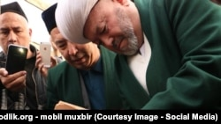 Председатель Управления мусульман Узбекистана, муфтий Усманхан Алимов.