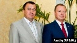 Рифкат Хуҗин (с) һәм Минәхмәт Халиуллов
