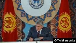 Presidenti kirgiz Almazbek Atambayev