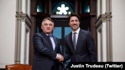 Željko Komšić i Justin Trudeau