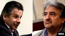 عبدالله علیخانی و حسین فرحبخش از تهیهکنندگان سینمای ایران