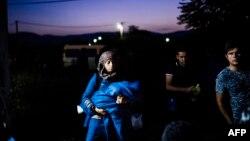 Migranti u Makedoniji na putu ka zemljama Evropske unije, ilustrativna fotografija