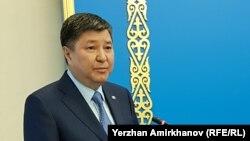 Председатель Верховного суда Казахстана Жакип Асанов.