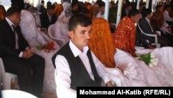 زفاف جماعي في تلعفر