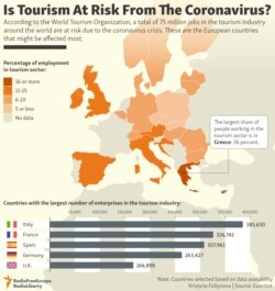 INFOGRAPHIC: Is Tourism At Risk From The Coronavirus?