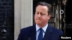 Ұлыбритания премьер-министрі Дэвид Кэмерон отставкаға кететінін мәлімдеді. Лондон, 24 маусым 2016 жыл.