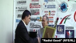 "Ҷоизаи ""Озодӣ"", Усмонов ва Исмоилов"