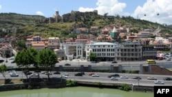 Pamje nga kryeqyteti Tbilisi në Gjerogji