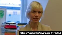 Депутат парламента Швеции Мария Нильссон