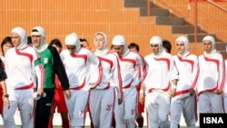 Иранские футболистки