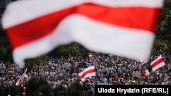 Марш Свободи в Мінську, 16 серпня 2020 року