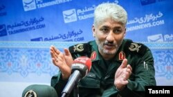 Ahmad Mehraban, IRGC commander and deputy of IRGC military college-- 1 Aug 2017