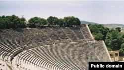 Театр в Эпидаврусе. Современный вид.