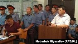 Фотография из зала суда.