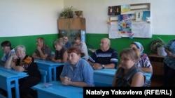 Большеречье. Встреча журналистов районной газеты с читателями