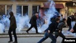 Беспорядки в Приштине, 7 февраля 2014