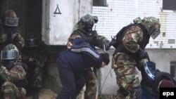 Специјални полициски сили во антитерористичка акција